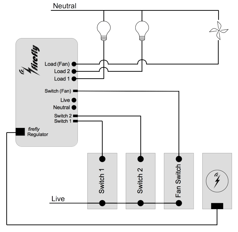 schematic circuit diagram of easy firefly home automation india - wifi smart switch | strings
