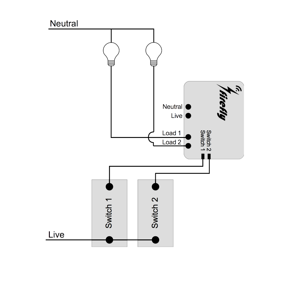 easy diagram of firefly firefly home automation india - wifi smart switch | strings